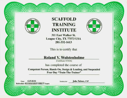 scaffold-training